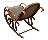 Victorian Beech Bentwood Rocking Chair (2 of 3)