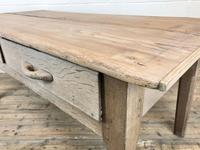 Early 20th Century Antique Oak & Pine Work Table (14 of 15)