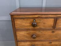 Victorian Tall Mahogany Chest of Drawers (2 of 12)