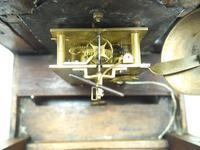 Unusual Rare 18th Century Austrian Verge Table Mantel Clock Pull Alarm (12 of 14)