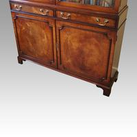 George VI Mahogany Library Bookcase (3 of 13)