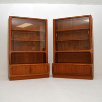 Pair of Danish Vintage Teak Bookcases by Dyrlund (11 of 12)