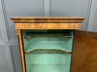 Burr Walnut Cupboard on Stand (4 of 15)