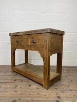 Reclaimed Wooden Sideboard with Two Drawers (7 of 10)