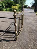 Brass King Size Bed Frame (6 of 7)