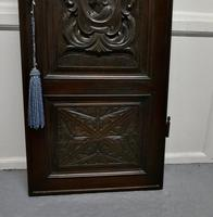 19th Century French Carved Oak Panel Door (5 of 6)