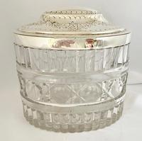 Victorian Silver Plated & Glass Box (2 of 6)
