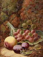 "Oil painting by Oilver Clare ""Gooseberries"" (5 of 5)"