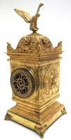 Good French Ormolu Cubed Classic 8 Day Striking Mantle Clock (5 of 11)