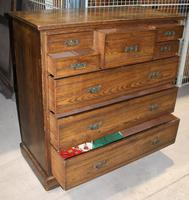 1920s Ash Chest Drawers 5 over 3 (3 of 4)