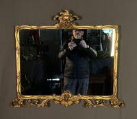 Good Quality Edwardian Gilt Overmantle Mirror (2 of 11)