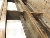 Pair of Antique Oak Refectory Benches (11 of 12)