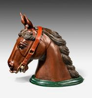 Early 20th Century Horse Head Mount (2 of 6)