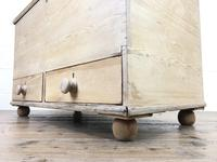 Antique Pine Blanket Box or Mule Chest (8 of 10)