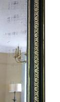 19th Century ebonised and gilt mirror overmantle wall (6 of 9)
