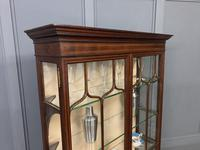Inlaid Mahogany Display Cabinet by Shapland and Petter (8 of 21)