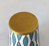 Vintage Russian Silver and Enamel Shots C1950 (3 of 5)