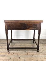 Antique 19th Century Oak Lowboy Side Table (4 of 11)