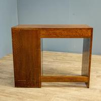 Modernist Oak Desk (6 of 6)