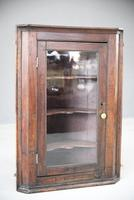 Rustic Oak Corner Cupboard (5 of 13)