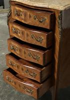 Quality French Marquetry Taller Chest of Drawers (12 of 15)