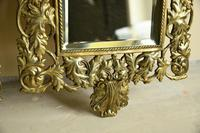 Pair of Brass Wall Mirrors (5 of 10)