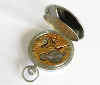 1930s Helvetia Pocket Watch in Super Condition (4 of 5)
