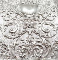 Antique Edwardian Sterling Silver Dressing Tray 1903 (3 of 7)
