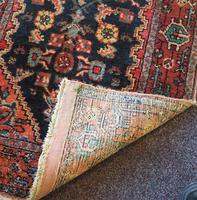 Small Vintage Persian Hamadan Rug (3 of 5)