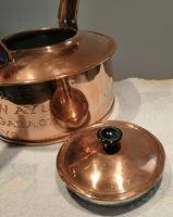 Antique Copper Advertising Kettle (4 of 7)