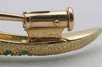 19ct Gold Demantoid Garnet Salamander Brooch (6 of 6)