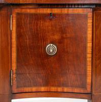 Mahogany Sheraton Revival Serpentine Sideboard (6 of 7)