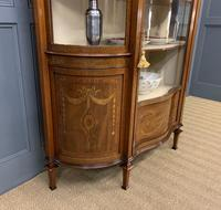 Maple & Co Inlaid Mahogany Display Cabinet (12 of 17)