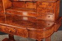 Victorian Figured Walnut Dressing Table (17 of 17)