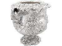 Antique George III Sterling Silver Wine Cooler (4 of 18)