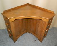 Oak Corner Desk (2 of 7)
