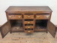 Antique 18th Century Oak Sideboard (3 of 7)