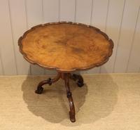 Good Quality Low Walnut Table