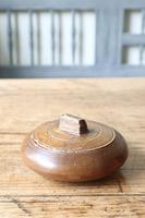 Scandinavian / Swedish 'Folk Art' wooden sliding-lid bowl 19th Century (10 of 15)