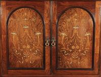 Marquetry Inlaid Rosewood Tallboy (4 of 12)