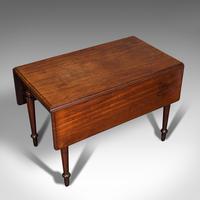 Antique Pembroke Table, English, Mahogany, Extending, Dining, Regency c.1820 (7 of 12)