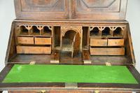Antique Oak Bureau Bookcase (6 of 9)