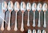 Elkington & Co Birmingham Solid Silver 36 Piece Cutlery Set 1959 (4 of 10)