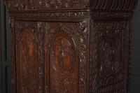 Profusely Carved Oak Cupboard (7 of 15)