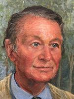 English Portrait Oil Painting Shropshire Titled Gentleman Rosemarie Timmis c.1970 (9 of 10)