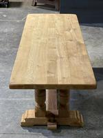 French Oak Refectory Farmhouse Dining Table (10 of 12)