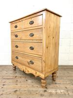 Victorian Pine Chest of Drawers (6 of 9)