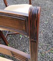 Fine Set of 8 Georgian Mahogany Dining Chairs (3 of 7)