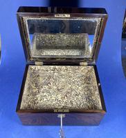 Victorian Rosewood Jewellery Box (8 of 17)