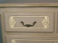 Attractive Hand Painted French Chest of Drawers (5 of 8)